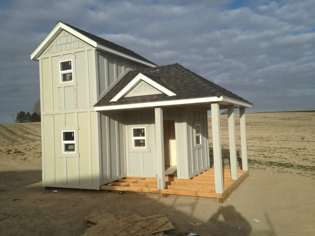Playhouse Construction Project