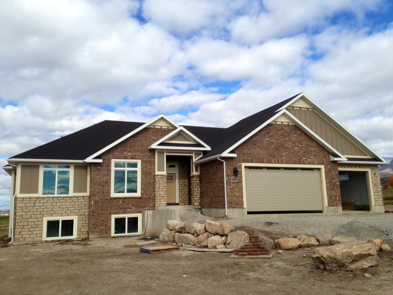 Brick Home Restoration : Home exterior restoration services preston id exterpro inc