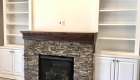 custom stone fireplace logan ut