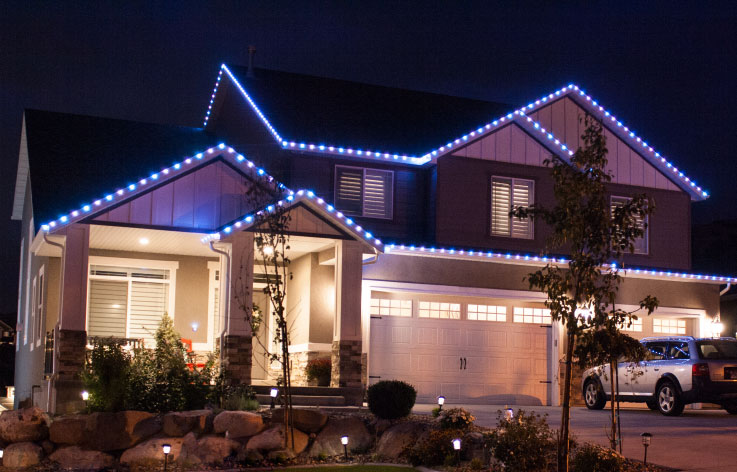 christmas light installation logan utah