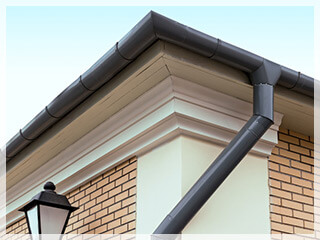 rain gutter repair preston id