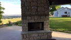 stone fireplace logan ut